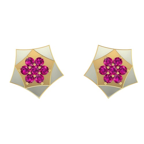 Padmagandha Gold Earrings