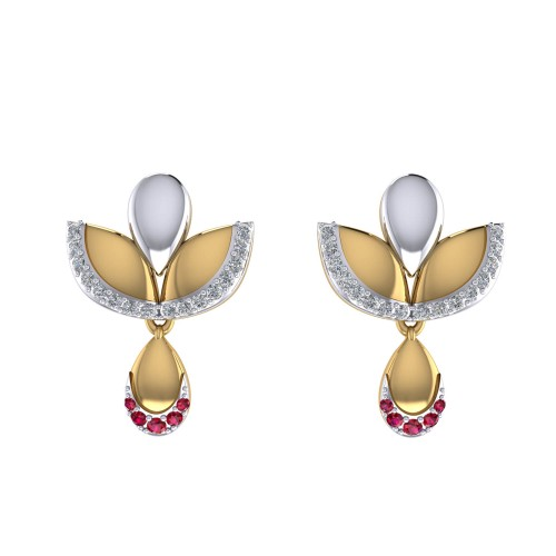 Padmahasta Diamond Earrings