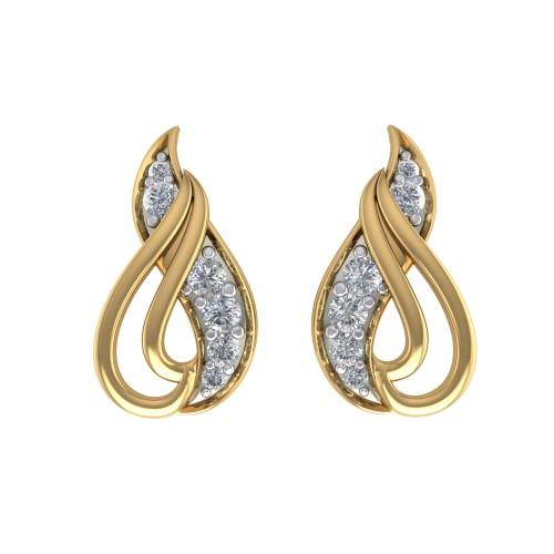 Padmakara Diamond Earrings