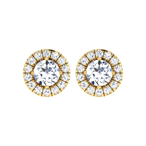 Quentin Gold Stud Earring