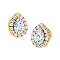 Quincy Gold Stud Earring