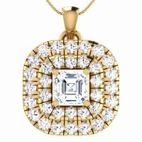 Saanvi Gold Pendant