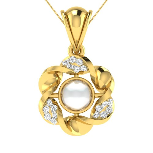 Wamika Diamond Pendant