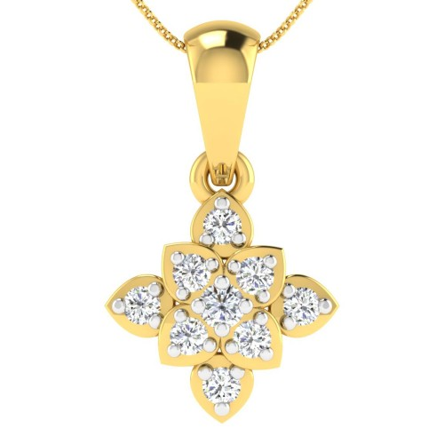 Romila Diamond Pendant