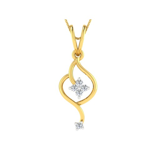 Oketa Diamond Pendant