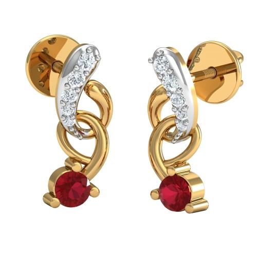 Talikha Diamond Earrings