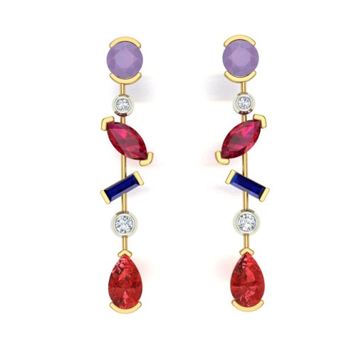 Badarayani Drop Earrings
