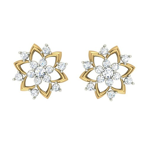Badarivasa Stud Earrings