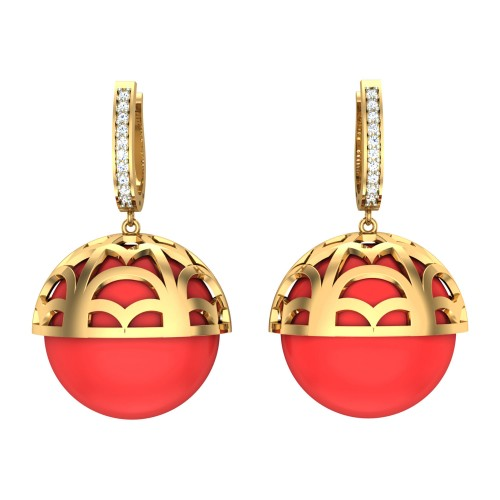 Bagavathi Drop Earrings