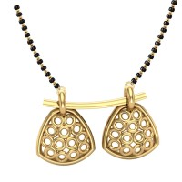 Adrika 18kt Yellow Gold Mangalsutra For Women