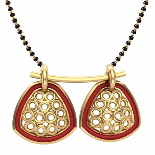 Aastha 18kt Gold Mangalsutra For Women