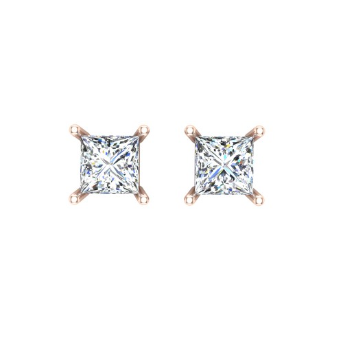 Aaravi Rose Gold Earrings