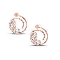 Paiseley Diamond Earrings