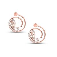 Paiseley Diamond Earrings
