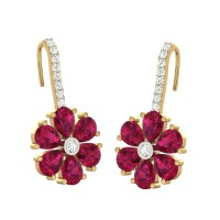 Ada Flower Drop Earrings
