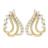 Ehimaya Yellow Gold Stud Earrings