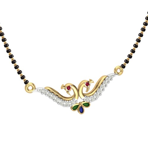 Saniya 18kt Gold Mangalsutra For Women