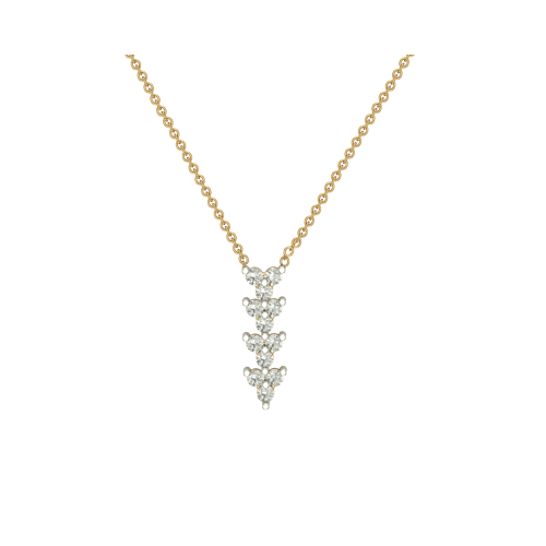 Manshi 18kt Gold & Diamond Pendant