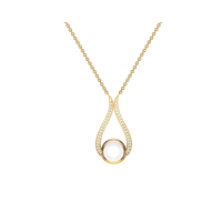 Shurti 18kt Gold & Diamond Pendant
