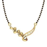 Tamanna 18kt Gold Mangalsutra For Women