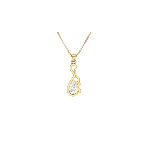 Amriti 18kt Gold & Diamond Pendant