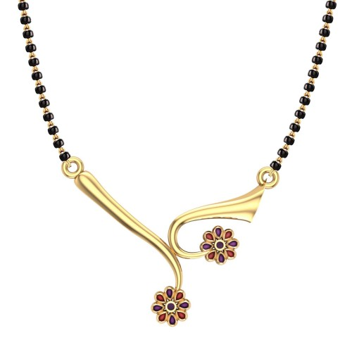 Kajal 18kt Gold Mangalsutra For Women