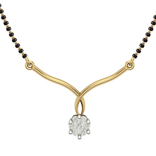 Tannu 18kt Yellow Gold Mangalsutra For Women