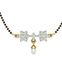 Mahima 18kt Yellow Gold Mangalsutra For Women