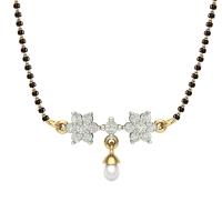 Mahima 18kt Yellow Gold Mangalsutra For Women