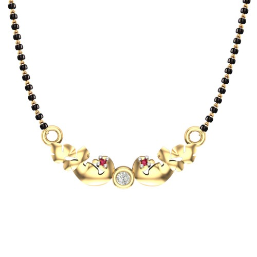Manisi 18kt Yellow Gold Mangalsutra