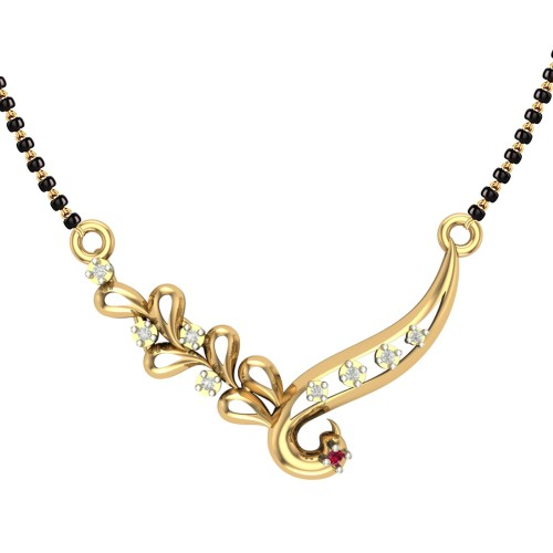 Aabha 18kt Yellow Gold Mangalsutra