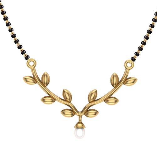 Deepa 18kt Yellow Gold Mangalsutra
