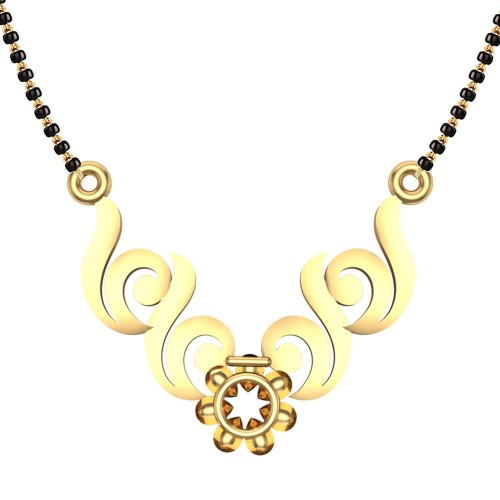 Aahana 18kt Yellow Gold Mangalsutra For Women