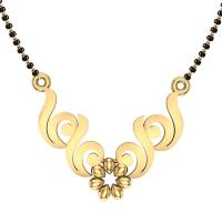 Aahana 18kt Yellow Gold Mangalsutra For Women