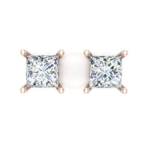 Aarvi Rose Gold Stud earring