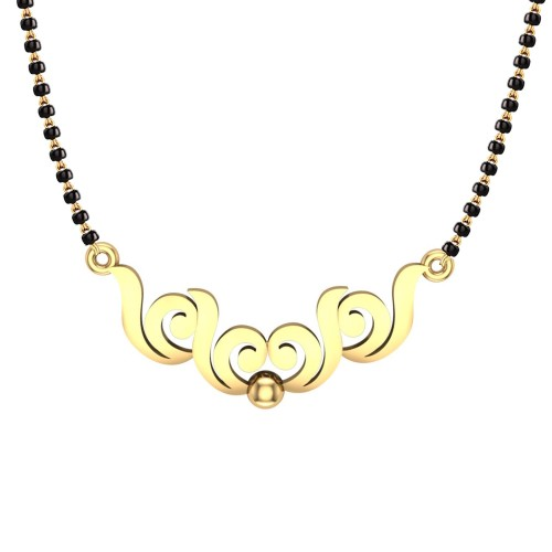 Aaditri 18kt Yellow Gold Mangalsutra