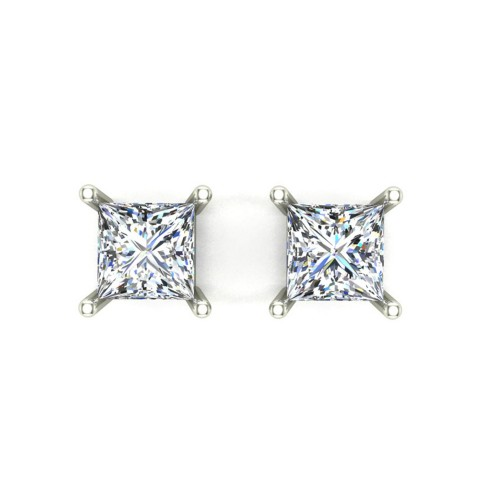 Aarvi White Gold Stud earring