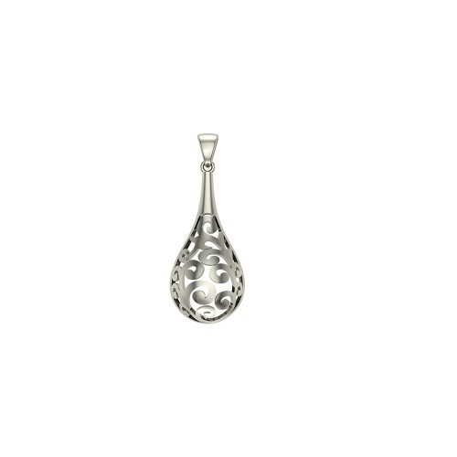 925 Sterling Silver Chayana Pendant