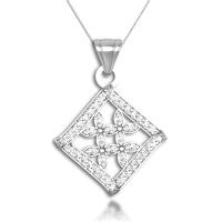 925 Sterling Silver Designer Miles Pendant