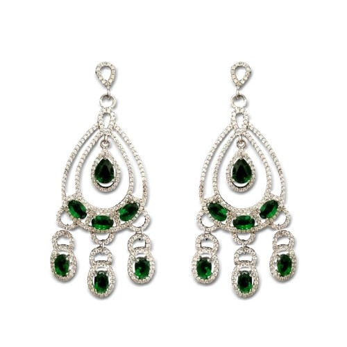 925 Sterling Silver Aahana Earrings