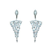 925 Sterling Silver Beautiful Adya Drops