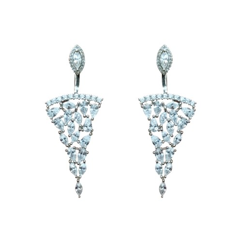 925 Sterling Silver Beautiful Adya Drops