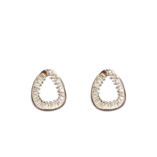 925 Sterling Silver Bhavna Earrings