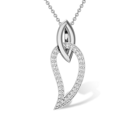 Amaris 18kt Gold & Diamond Pendant