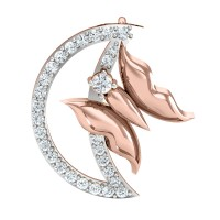 Ahuti Gold and Diamond Pendant