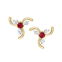 Alannah Diamond Earring