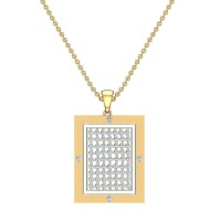 Ameyalli Diamond Pendant