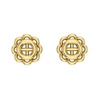 Amisha Gold Stud Earring