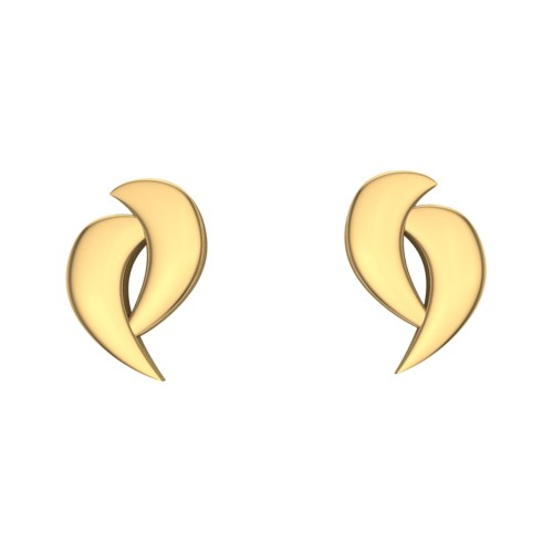 Annu Gold Stud Earring