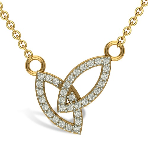 Anshu 18kt Gold & Diamond  Pendant